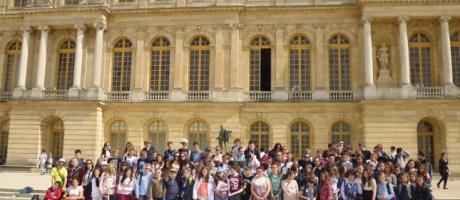 Les 5ès du collège Interparoissial visitent Versailles