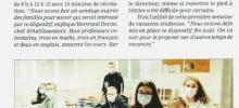 Vacances studieuses pour des élèves du collège de l'Interparoissial