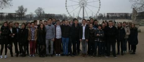 Les 3ès du collège Interparoissial visitent l'assemblée nationale